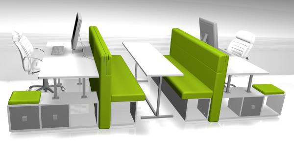 biside mobilier de bureau modulaire on behance. Black Bedroom Furniture Sets. Home Design Ideas