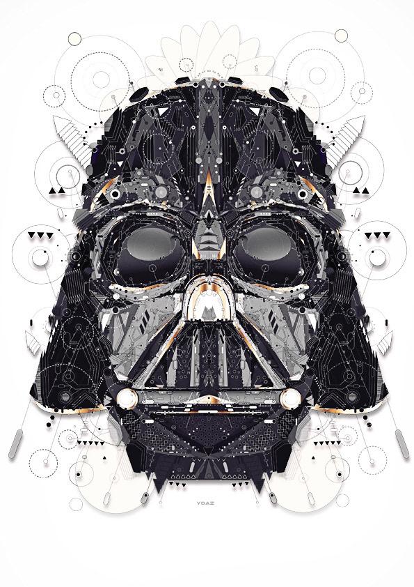 star wars stormtrooper yoda yoaz movie poster darth vader dark vador