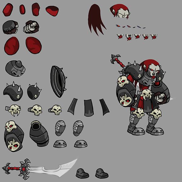 Cartoon Character Designs Video Games