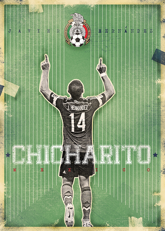 The Gods Of Football (Part II) on Pantone Canvas Gallery