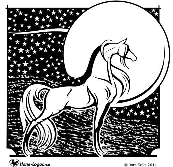 equine graphic design