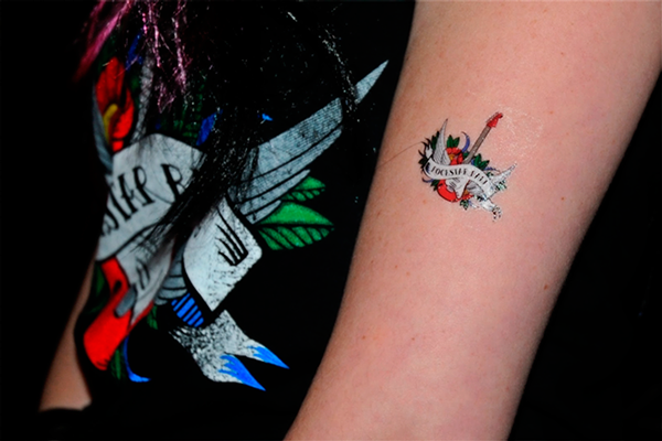 Tattoo Initials Mn: Rockstar Ball On Behance