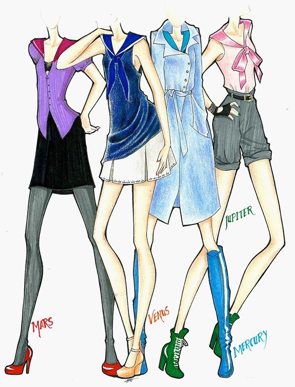 Fan Art: Sailor Moon on Behance