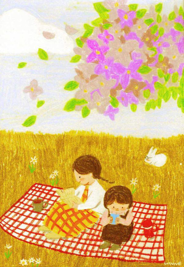 精緻的45個韓國插畫欣賞