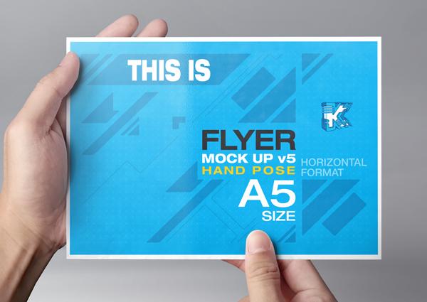 Flyer Mock Up V5 On Behance