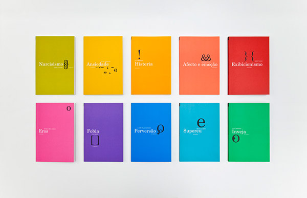 Book Cover Series Review ~ Psychoanalysis book series on behance