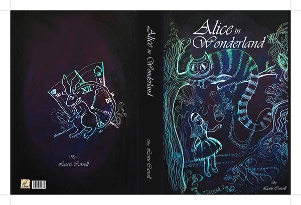 Alice In Wonderland Book Report Ideas : Book cover quot alice in wonderland on behance