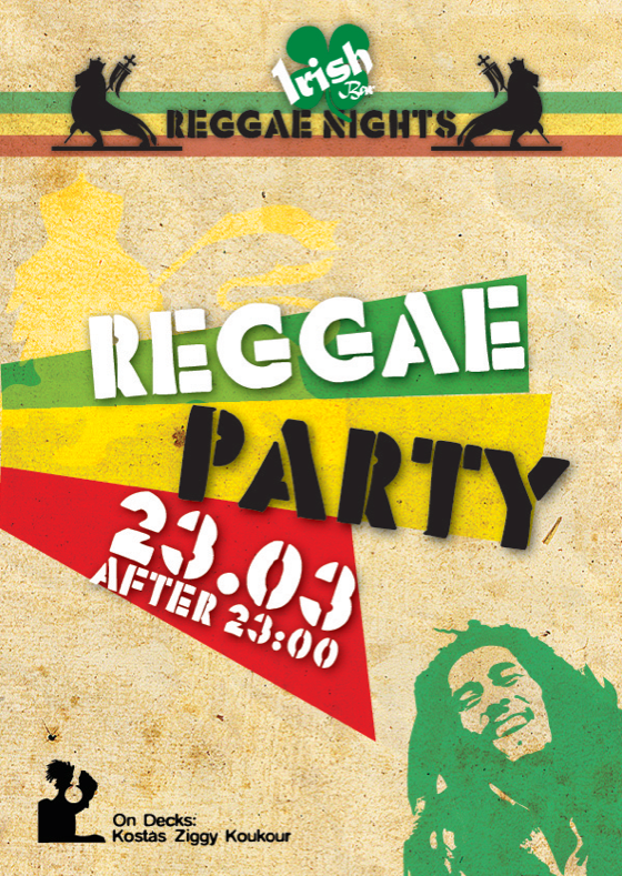 posters reggae party on behance