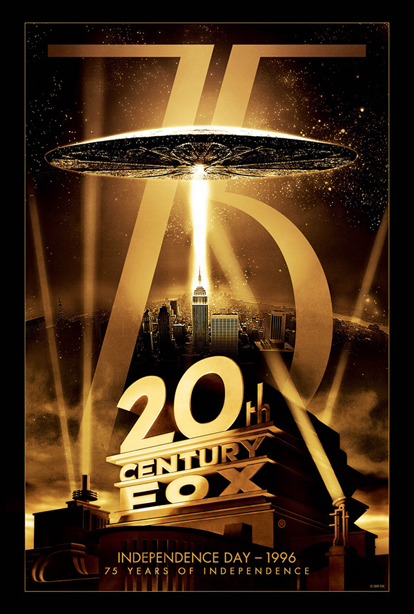 20th Century Fox 75th Anniversary on Behance