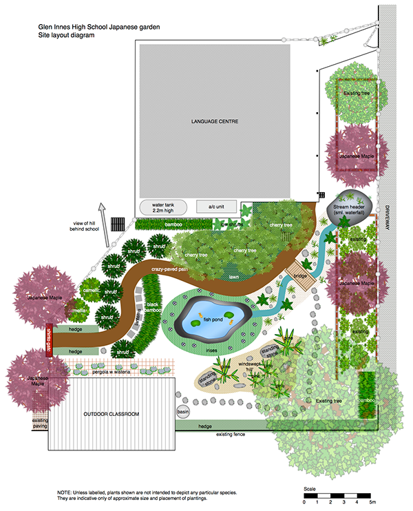 Japanese garden plans pdf for Plan your garden ideas