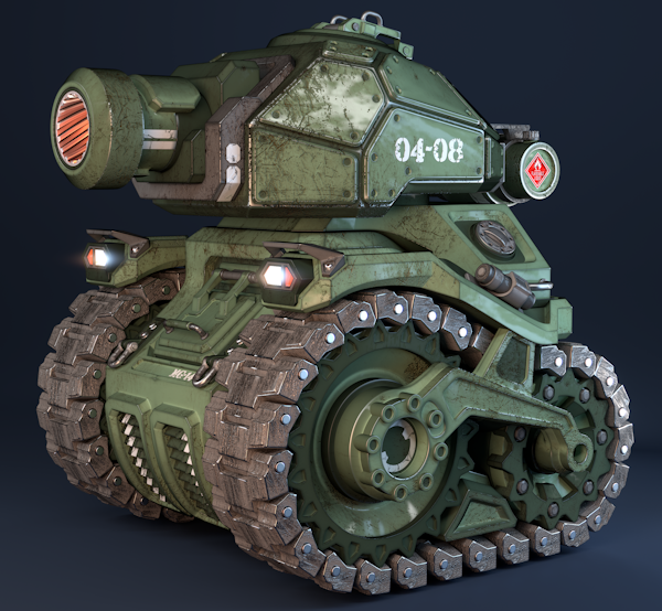 Tank treads game unit Military