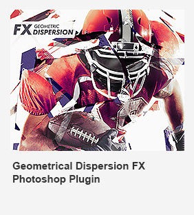 Geometrical Dispersion FX Photoshop Add-On Plugin