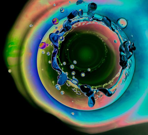 water Liquid liquid art water art green drop macro splash spill splatter drops drip