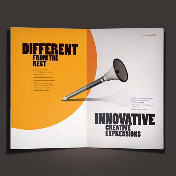 Media Brochure on Behance