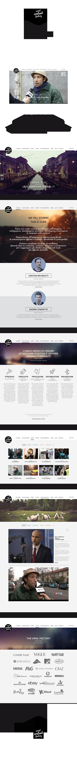 social content factory milan Mtv milano Web Webdesign interactive design grey black people story cool