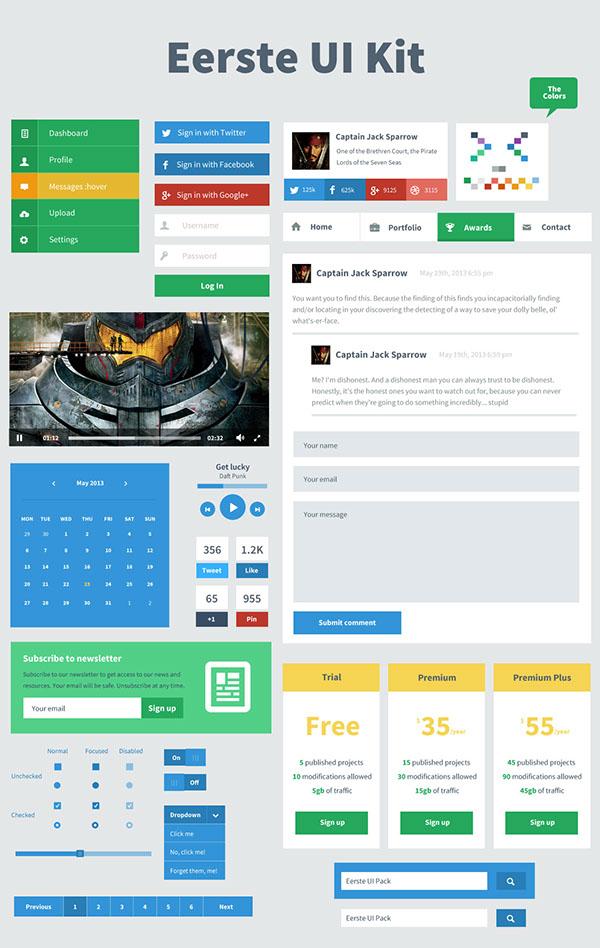 ui kit  ui freebie  freebie  user interface