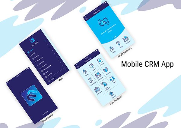 Mobile CRM App UI