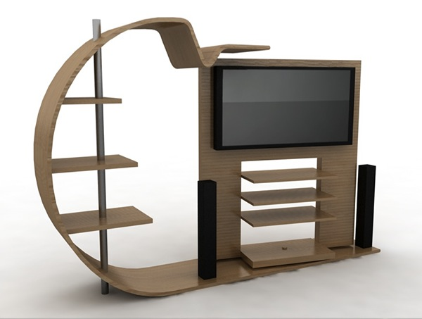 Tv Stand On Behance