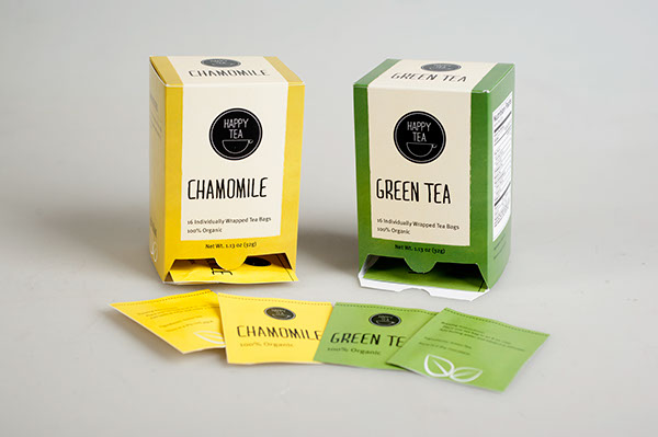 Happy Tea Package Design On Behance