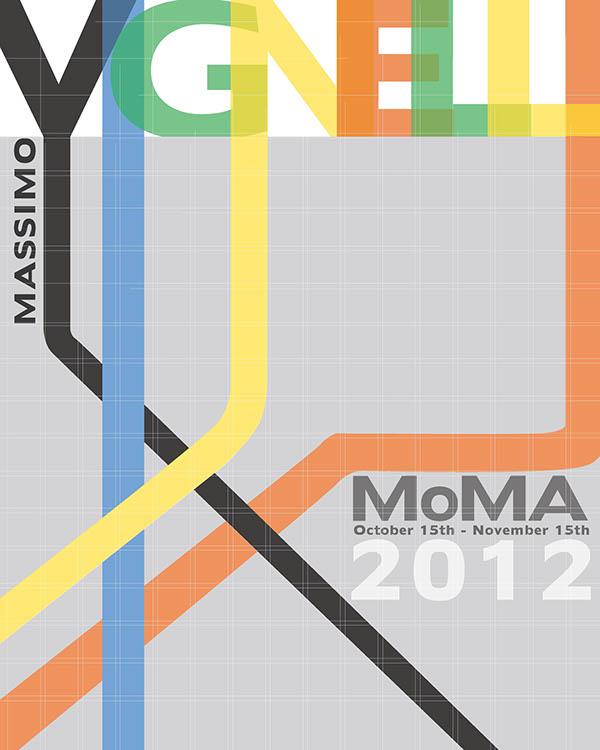Massimo Vignelli MoMa ...