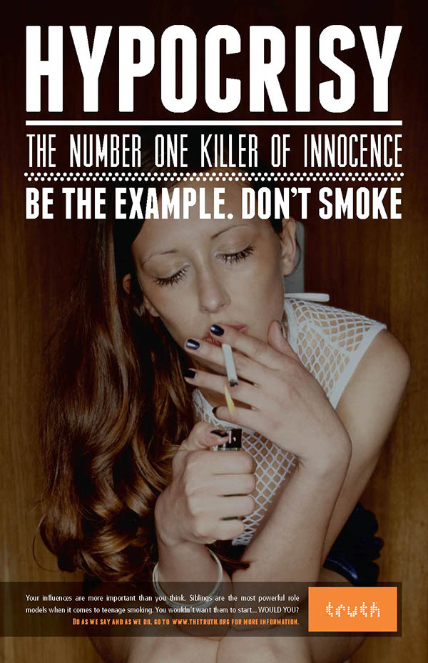 teenage smokers and advertisement essay Most smokers start in their teens and for that reason tobacco companies are determined to get them hooked many smokers drop the habit each year by either quitting or dying (how.