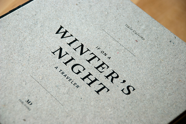 If On A Winter S Night A Traveler Analysis