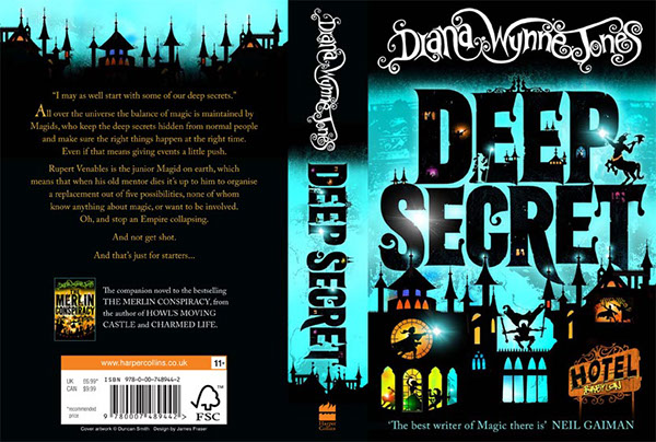 Book Covers Front And Back : New covers for diana wynne jones books on behance