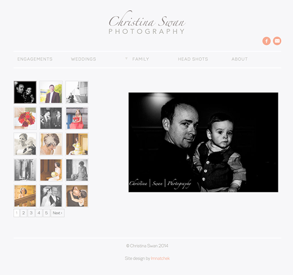 Finished Project Website Small Business portfolio