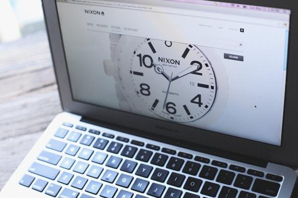 Nixon, website, UI, user interface,White, clean, watch , watches, Lifestyle, brand, marketing, Css, simple
