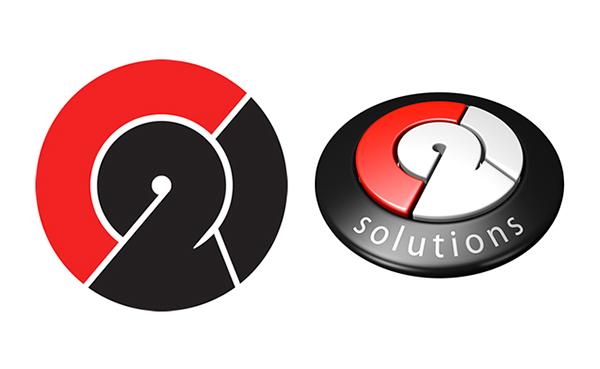logo c21 red black White 3D Render blender puzzle solutions