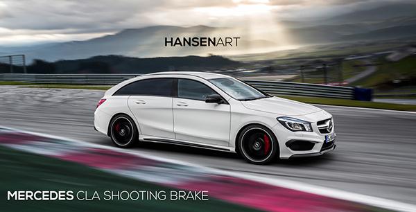2014 Mercedes CLA Shooting Brake - Speculative render on Behance