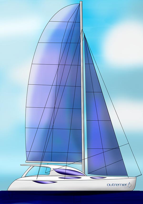 Transportation Design Naval Design outremer yacht boat naval strate Ecole2Design