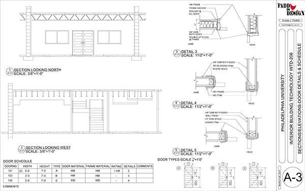 Construction Documents For A Commercial Office Space on