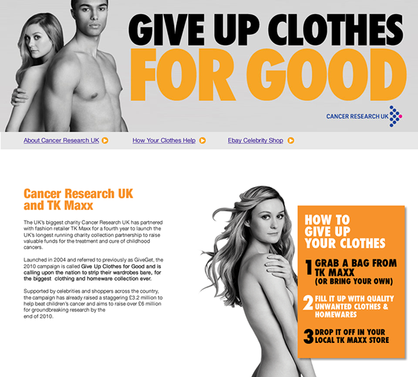 f48eafbbb Give Up Clothes For Good on Behance
