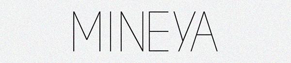 visual identity  logo pattern  letterpress  business card  corporate  trademark  font  positive  negative Mineya  bosnia color  Diamond simple