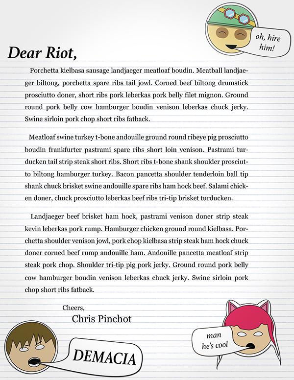 cover letter for riot games fantastisch berweisungsbeleg bilder die besten