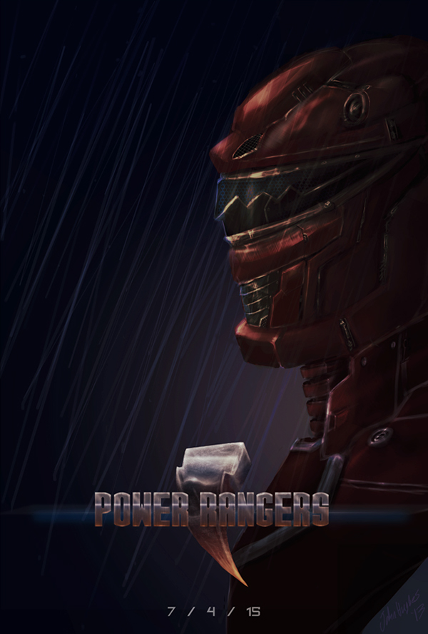Power Rangers Reboot Poster Power Rangers Poster Concept
