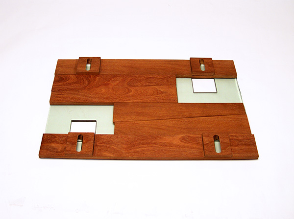 Sustainable green wood glass