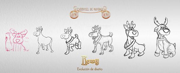 carrusel, navideño, Lucas,woodyvaso