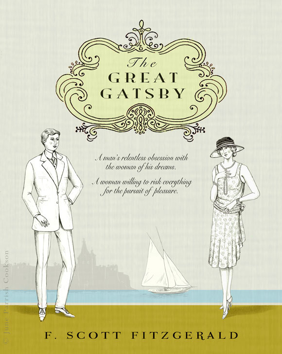 Great Gatsby Book Cover Ideas ~ Book cover the great gatsby on behance