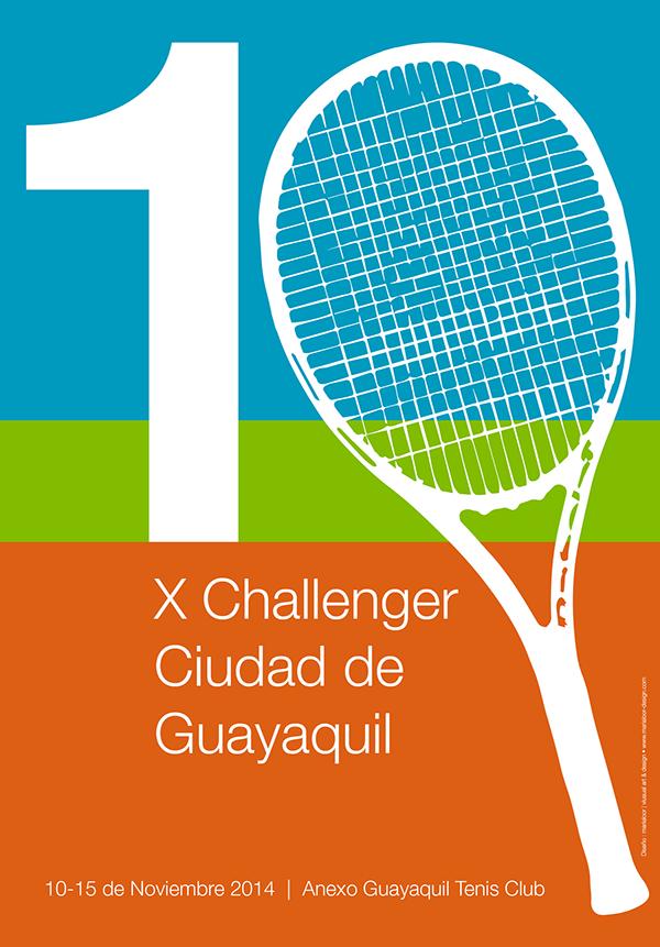Poster Design - Tennis Tournament on Behance