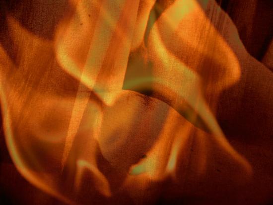 flames, veils, desire