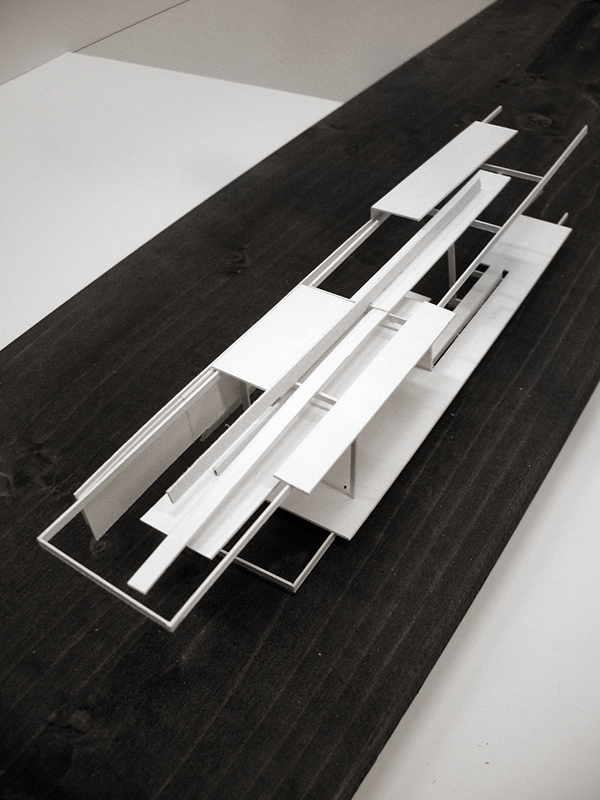 Just form on student show for Linear architecture design