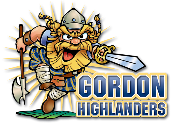 gordon college mascot on behance