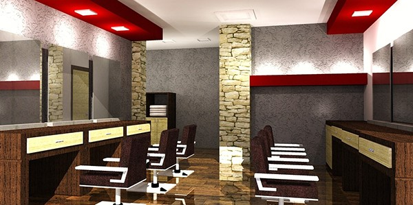 Barber shop design on behance for Ideas for barbershop interior designs