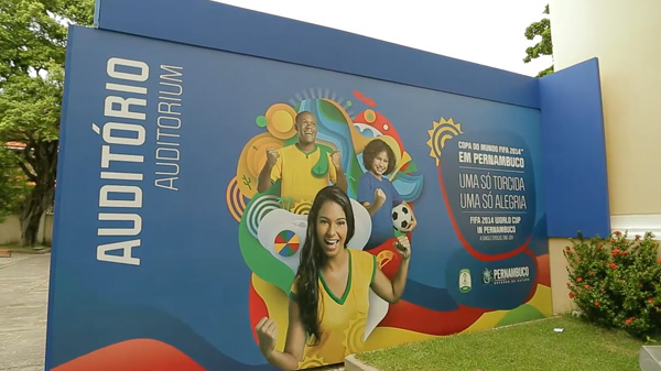 world cup copa do mundo pernambuco recife Arena soccer football taryn Taryn Polieste game Copa WorldCup Neymar