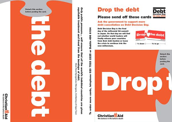 Christian Aid campaign Debt Jubilee 2000 Third World charity Aid