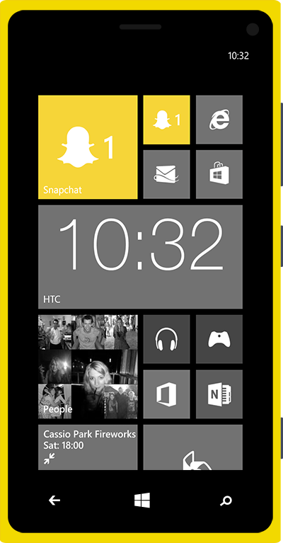 Snap Chat For Windows Phone 7
