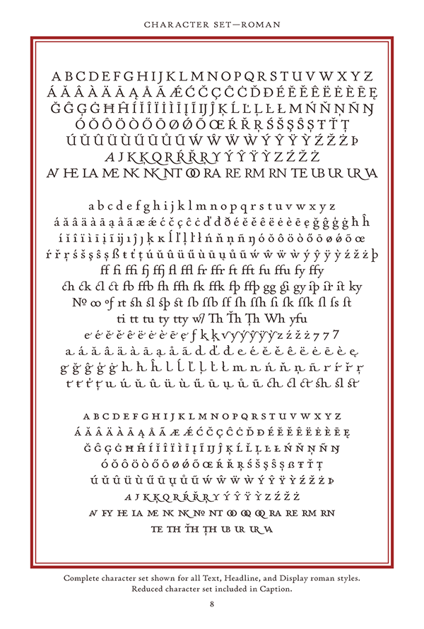 fonts text book optical weights