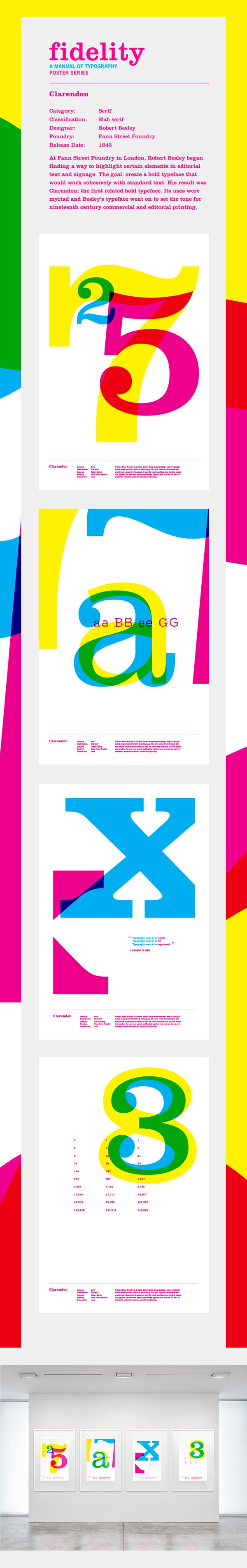 CMYK Clarendon university of kansas dustin johnson poster series Typeface multiply fidelity typographic manual robert besley bold serif slab serif